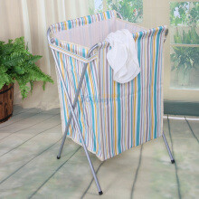 美居客 可折叠带盖脏衣篮