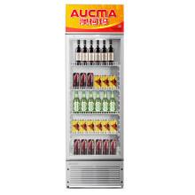 澳柯玛(AUCMA)287升 立式商用单门展示柜 冷藏柜 啤酒柜 饮料柜 玻璃门陈列柜 SC-287(NE)
