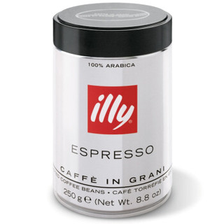illy 意利 深度烘培咖啡豆 250g/罐