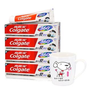 Colgate 高露洁 360°备长炭深洁 牙膏套装 200g×3支+凑单品