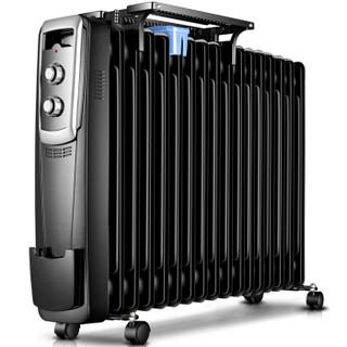HYUNDAI 现代电器 DNQ25-C 电热油汀 黑色