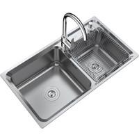 VATTI 华帝 H-A2012(77)-C.1 厨房水槽 U型冷热水龙头 766*426mm
