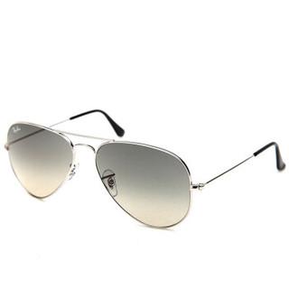 Ray-Ban 雷朋 飞行员系列 金色镜框绿色偏光镜片太阳镜 RB3025 001/58 62mm