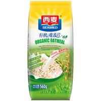 SEAMILD 西麦 有机燕麦片 (560g、袋装)