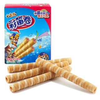 康师傅 彩笛卷 (40g、草莓)