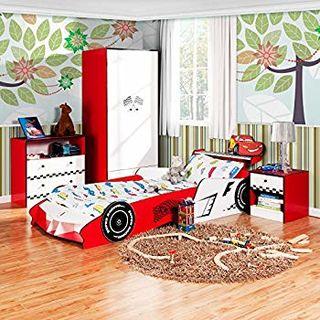 Homestar 好事达 儿童家具系列 儿童卧室套装王子款(床+衣柜+床头柜+斗柜)