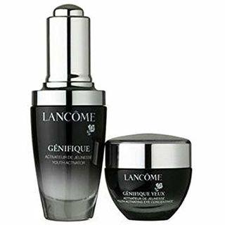 Lancome/兰蔻 小黑瓶套装(眼霜15ml+精华肌底液30ml)