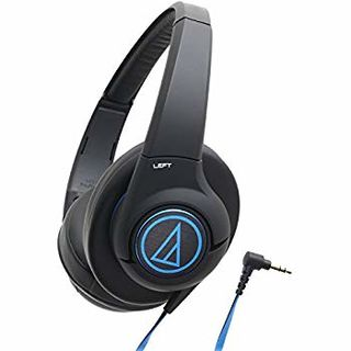 audio-technica 铁三角 ATH-AX5iS BK 头戴式耳机
