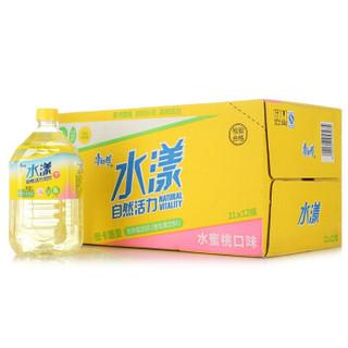 康师傅 水漾维生素饮料 水蜜桃口味 1L*12瓶