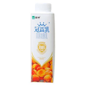 MENGNIU 蒙牛 冠益乳 风味发酵乳 黄桃果粒酸奶 450g *16件