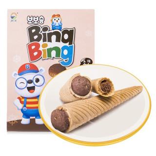 九日 欧巴熊 冰淇淋形巧克力饼干 53.4g *11件