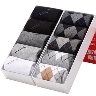 Nan ji ren 南极人 男士中筒袜子 10双礼盒装