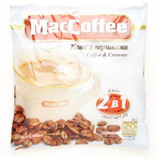 MacCoffee 美卡菲 2合1(无蔗糖)速溶咖啡 240g