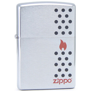 ZIPPO 之宝 防风之火 28569 打火机 (银色)