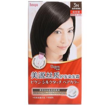 Bigen 美源发采 丝质护发染发霜 3N自然棕黑色