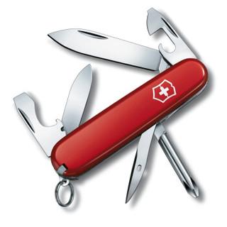 维氏VICTORINOX瑞士军刀 小修补匠(12种功能)红色光面0.4603