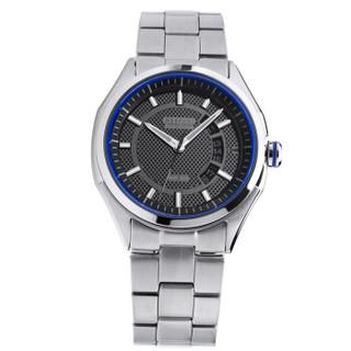 西铁城(CITIZEN)手表 光动能日历窗款折扣钢带运动男表AW1141-59E