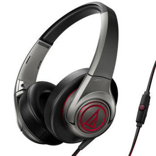 audio-technica 铁三角 ATH-AX5iS GM 头戴式耳机