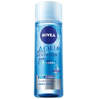 NIVEA 妮维雅 凝水活采醒肤水 200ml*6瓶