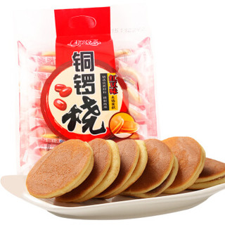 PANPAN FOODS 盼盼 铜锣烧 (240g、红豆味)