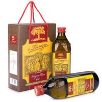 欧萨 特级初榨橄榄油 1L*2礼盒