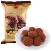 TATAWA 软陷曲奇饼干 榛果巧克力味 120g