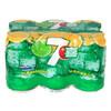 7喜柠檬味汽水330ml*6听装 六联包 七喜 百事可乐荣誉出品 10.9元