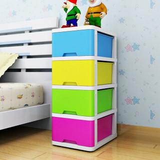 家乐铭品 XY2149S 四层儿童收纳柜