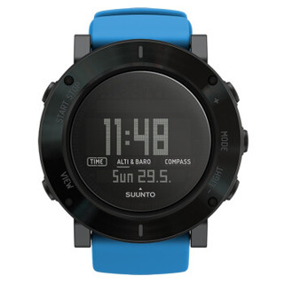 SUUNTO 颂拓 核心系列 SS021373000 男士户外运动多功能手表(蓝黑) 大表盘