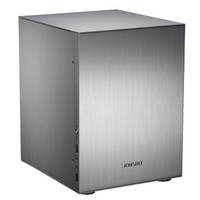 JONSBO 乔思伯 C2 M-ATX机箱 非侧透 银色+乔思伯 12020 机箱风扇套装