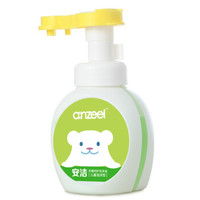 anzeel 安洁 洗手液 儿童泡沫型 青苹果香型 255g