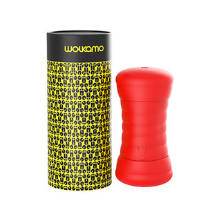 Wolkamo 智能异地互动飞机杯 红色
