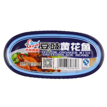GuLong 古龙 速食鱼罐头 (120g、罐装)