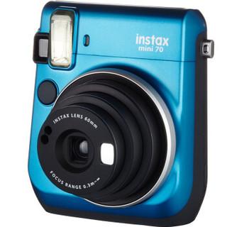 FUJIFILM 富士 instax mini70  一次成像相机 冰晶蓝