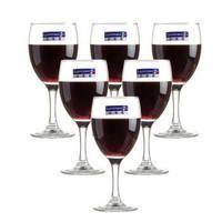 Luminarc 乐美雅 优雅红酒杯 140ml 6只装 *3件