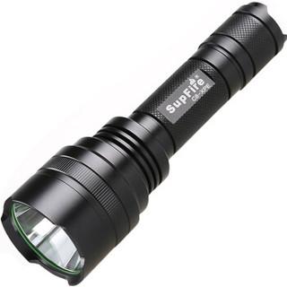 神火(supfire)C8 强光手电筒远射LED充电式迷你防身骑行户外灯