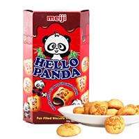 meiji 明治 熊猫巧克力夹心饼干 50g