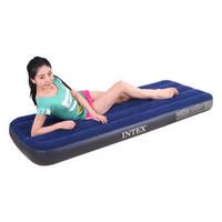 INTEX 68950 条纹植绒充气床