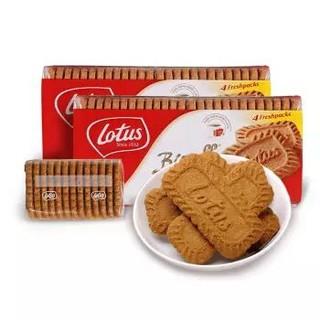 Lotus 和情缤咖时焦糖饼干 350g*2袋 *2件