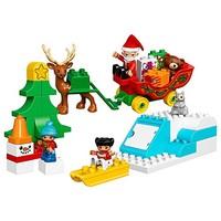 LEGO 乐高 Duplo 得宝系列  10837 圣诞老人的寒假