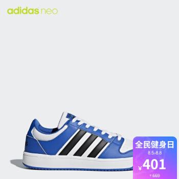 阿迪达斯adidas neo CLOUDFOAM BB HOOPS 男子休闲鞋AW3909 如图 40