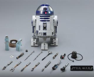Hot Toys 星球大战 豪华版 R2-D2 1:6 比例珍藏人偶