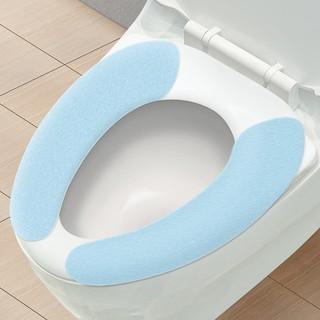 魅洁 防水马桶坐垫 粘贴式 3对装