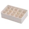 MINISO 名创优品 袜子收纳盒 15格 *3件 75.2元(合25.07元/件)