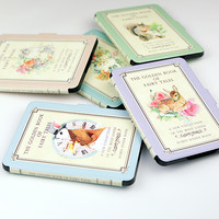 屋檐下的知更鸟 kpw/New Kindle电子书休眠皮套 金色童话 Vol.1 秋日松鼠