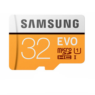 SAMSUNG 三星 32GB U1 C10 EVO升级版 microSD存储卡 TF卡