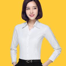 时尚修身正装职业女长袖衬衫