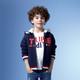 Z-PARIS 法国进口 5-14岁 男童拉链外套 蓝色
