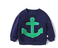 I.K 印象童年 男童船锚加绒卫衣 *5件