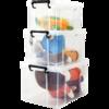 百居乐 高透明塑料收纳箱 8升 14元(需用券)